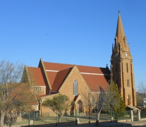 The sand stone church in Winburg