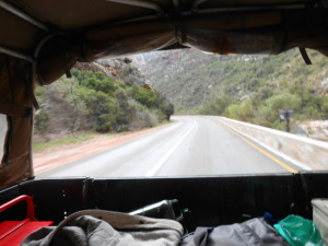 The home stretch through Meiringspoort