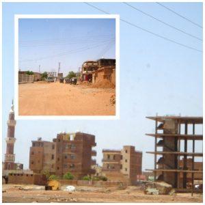 The streets of Khartoum