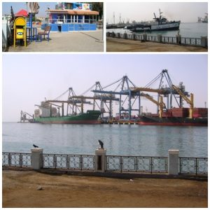 Scenes from the esplanade in Port Sudan
