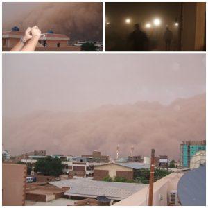 Experiencing a haboob in Khartoum