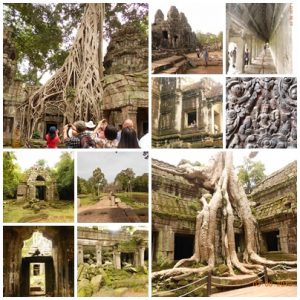 At Angkor Wat complex