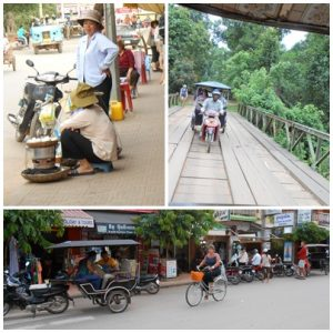 Some streets scene in Siem Reap