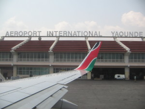 And we also made a stop in Cameron to refill enroute to Accra