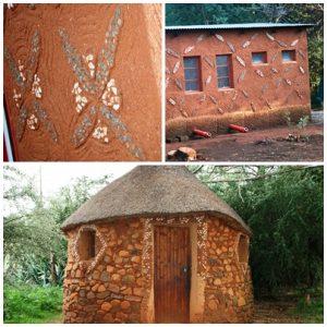 In the camp site @ Malealea Lodge