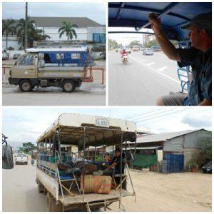 Vientiane public transport options