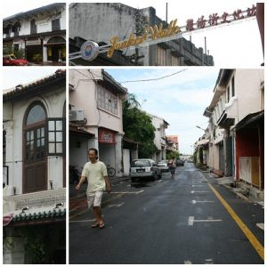 Walking in Jonker Street