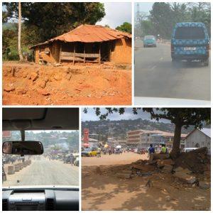 On the road to Tacugama